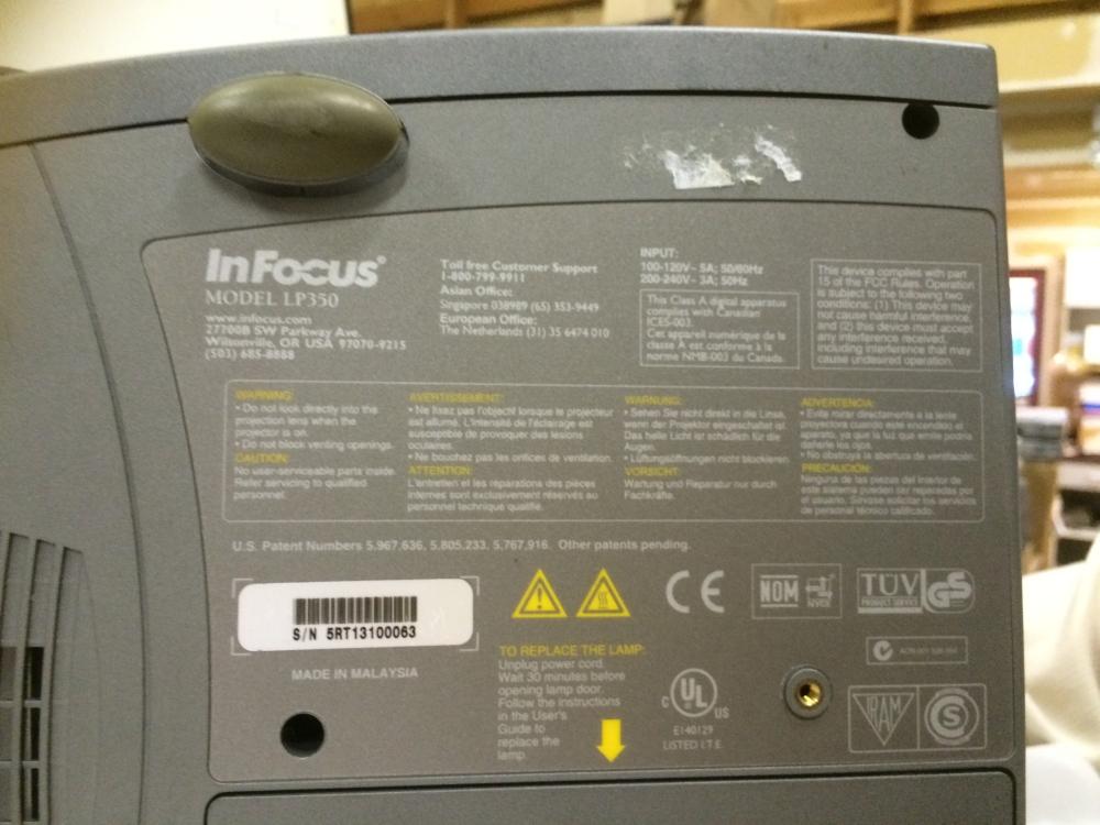 InfocusLP350c
